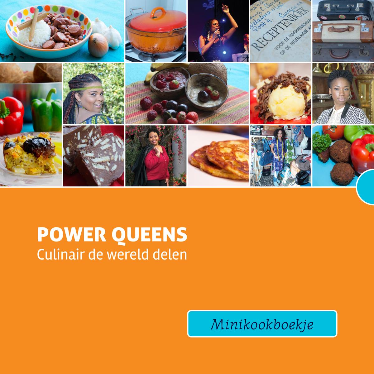 Power Queens minikookboekPower Queens minikookboek